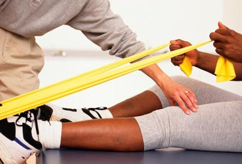 Physical and occupational therapy can help reduce pain.