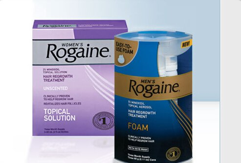 Propecia rogaine side effects