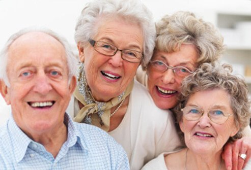 A group of happy seniors.