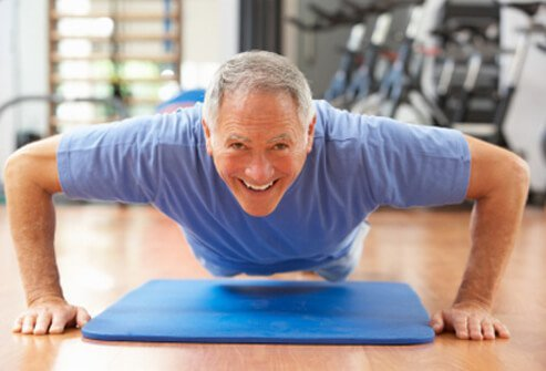 What are some fitness tips for people older than 60?