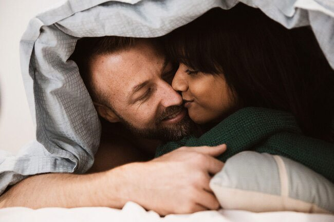 Every orgasm releases a flood of the hormone oxytocin, which improves your mood.