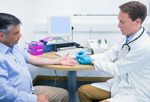 See your doctor two to four months a year for diabetes management.