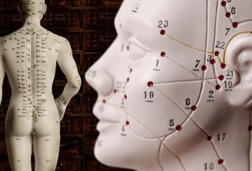 Acupuncture works to release the flow of the body's vital energy or