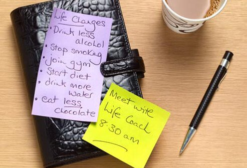 Photo of a to do list.