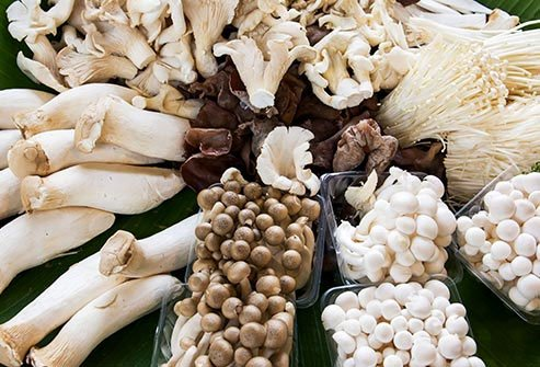 There are thousands of different edible mushrooms beyond the white button variety.
