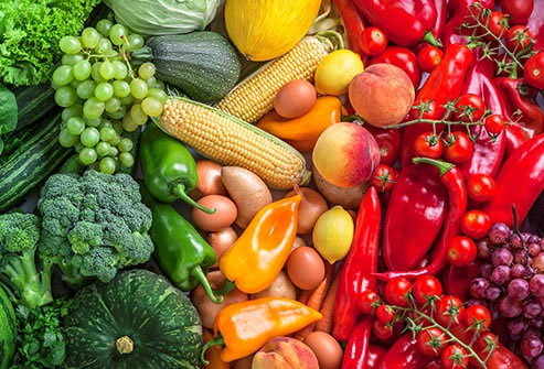 Eat a colorful array of produce to get a mix of phytonutrients.