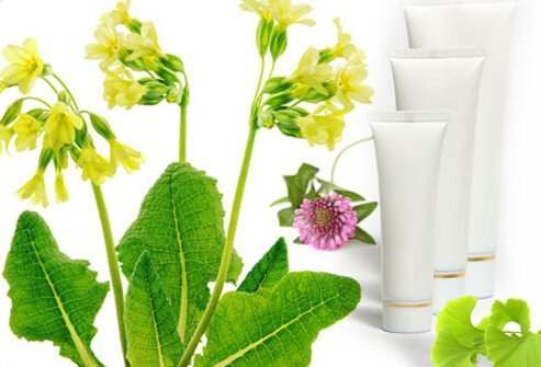 Tubes of topical herbal cream.