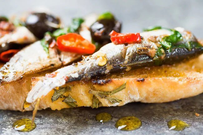 Sardines are a great and inexpensive source of protein.