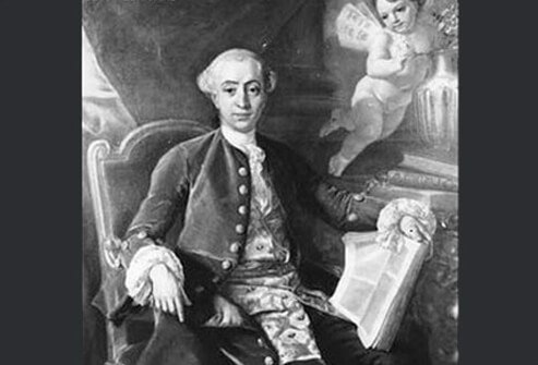 The famed Italian lover Giacomo Casanova.