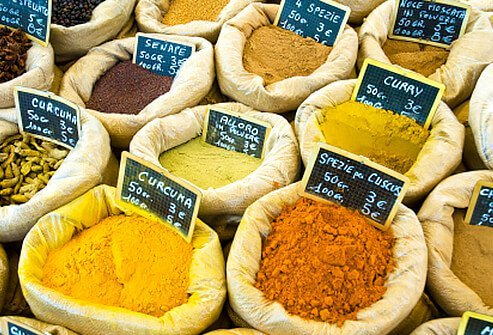 Better spices can help reduce COPD symptoms.