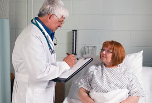 Some symptoms are more serious and the patient should be seen by a doctor.