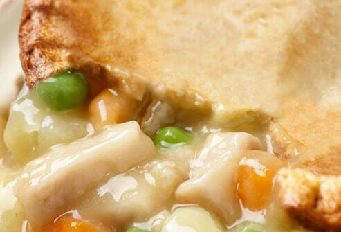 When fall arrives, many of us turn to hearty foods, like creamy chicken potpie.