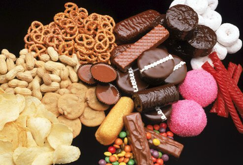 Junk food that can increase depression risk.