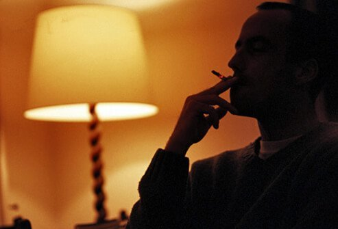 Cigarettes are stimulants, and they can prevent you from falling asleep quickly.