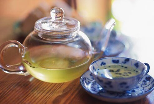 Photo of green tea.