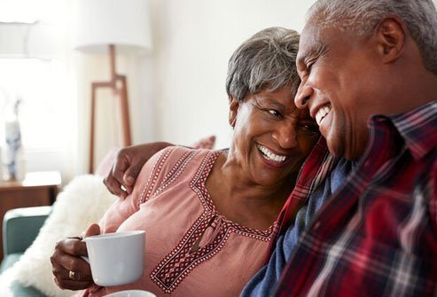 Many people have better sex lives after 60 than before.