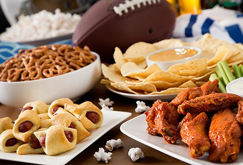 Game day party healthy recipes drinks for sports season find more healthy recipes forumfinder Images