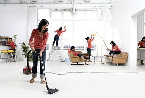 To avoid germs and allergens, regular housekeeping is crucial.