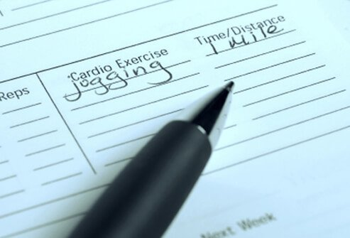 Personal exercise planner