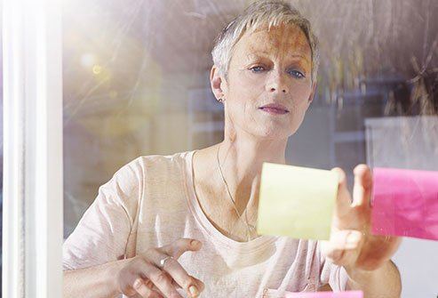 A lack of estrogen during menopause may cause brain fog.