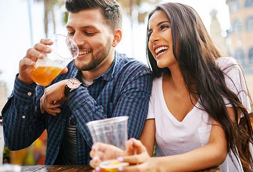Alcohol impairs brain function and mood.