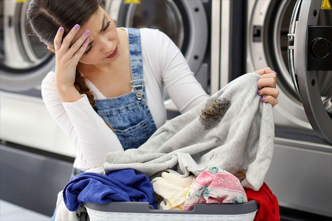 Remove stains safely using proven sanitary methods.