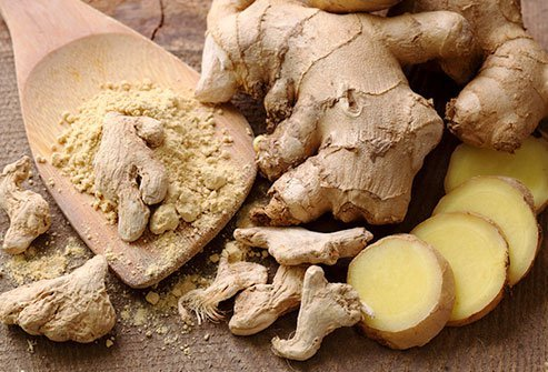 Antioxidant compounds in ginger root have potent anti-inflammatory and immune-boosting properties.