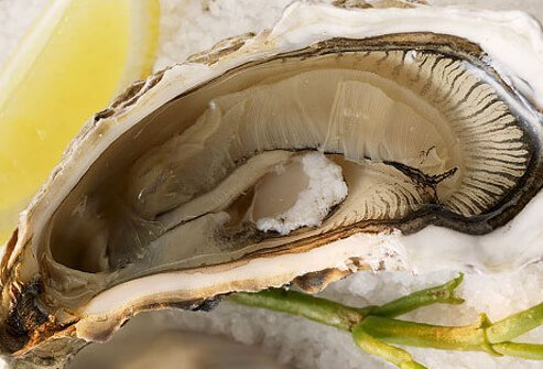 Oysters provide selenium, iron, vitamin C and A, zinc and high-quality protein for proper immune function.