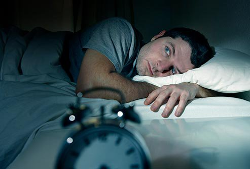 Work often gets in the way of a good night's sleep.
