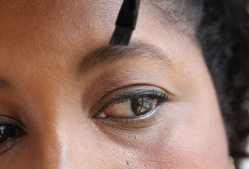 Full, beautiful brows frame your face.