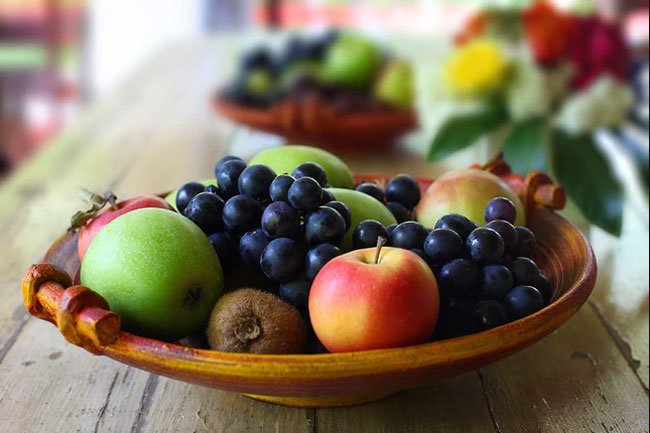 Fruit has carbs, but it also has vitamins and nutrients.
