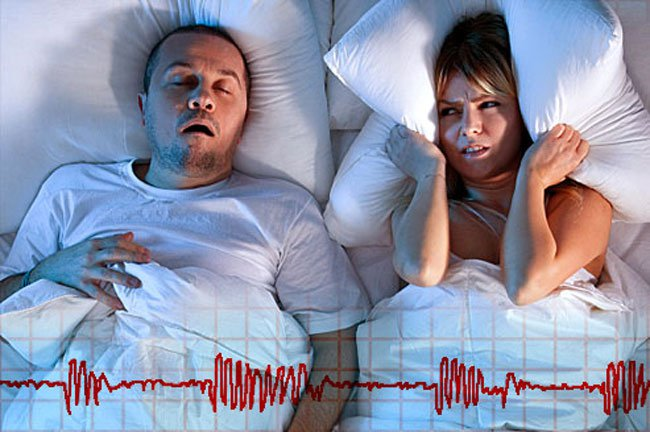 Snoring can be a symptom of sleep apnea, but there's a big difference.