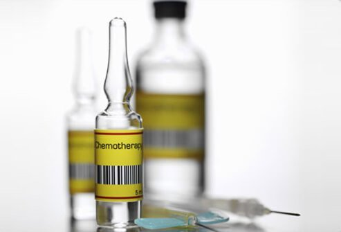 Photo of chemotherapy drugs.