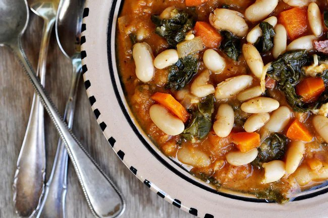 Cannellini beans make a great high-protein addition to soups, toast and bean salad.