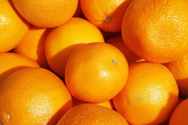 One orange can give you 70% of your daily recommended amount of vitamin C.