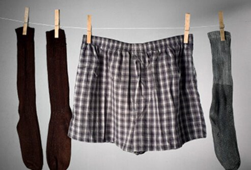 Ringworm prevention tip #4: Wear loose-fitting cotton clothing. Change your socks and underwear at least once a day.
