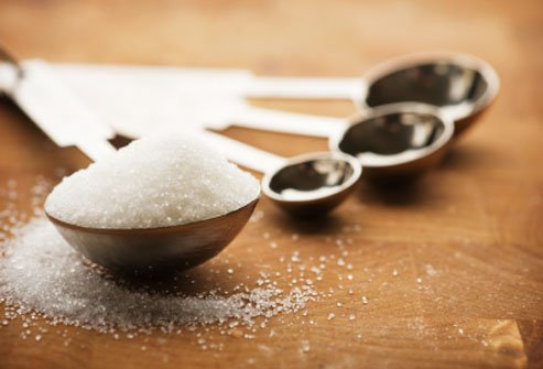 Spoon full of salt.