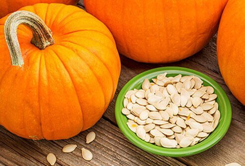 Pumpkin seeds.