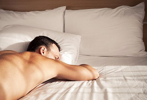 stomach sleeping may cause problems