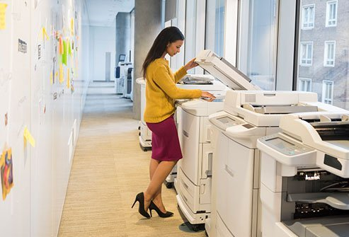 Certain laser printers and copy machines can emit indoor pollutants.