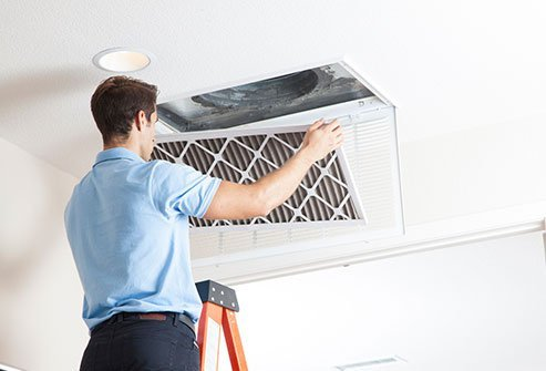 Proper ventilation helps reduce a large number of indoor pollutants from your home, school, or office.