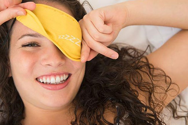 Beauty sleep is a real thing. Your skin heals while you sleep.