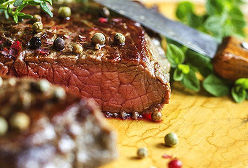 If you're a meat lover, beef is a great way to get some iron.