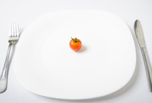 Many people with anorexia are obsessed with food.