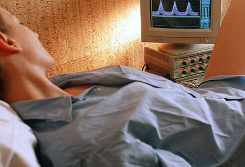 Biofeedback therapy, in which electrical patches are placed over areas of the body, record muscle contractions to see whether or not you're performing Kegel exercises correctly.