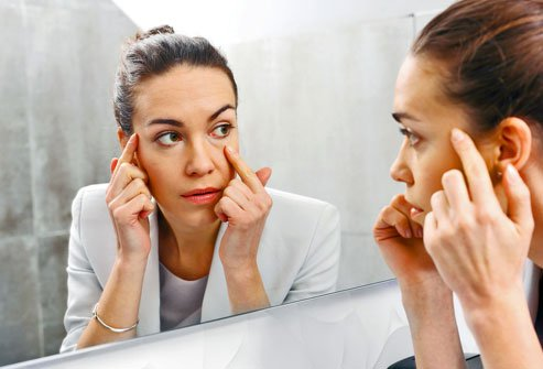 Many health problems can appear on your face, including jaundice, stroke, and skin cancer.